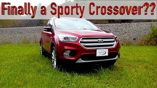 2018 Ford Escape Review, a Crossover With Some Spice?