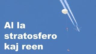 La balono flugis ĝis al la stratosfero [362]  #Esperanto