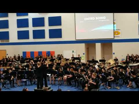 Clark pleasant middle school band performance