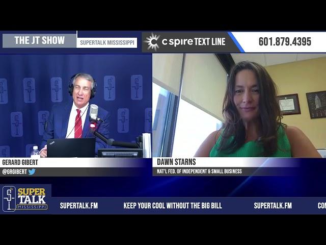 Dawn Starns - End of federal unemployment checks