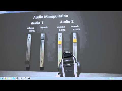 Unreal Engine 4: Audio Manipulation Using Sliders