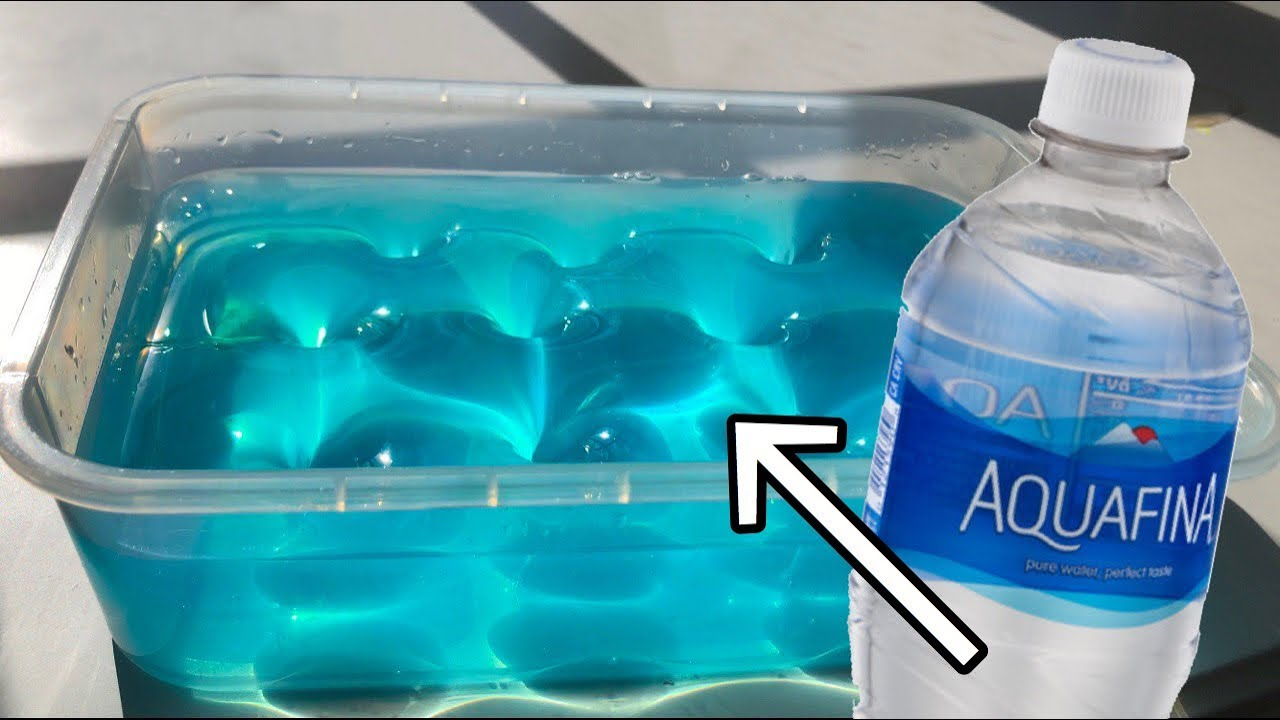 Water Slime Testing No Glue Water Slimes Without Glue Or Borax