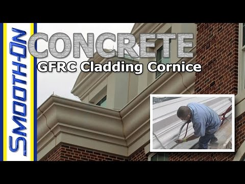 Creating a GFRC Cornice - Featuring: GFRC Cladding Systems
