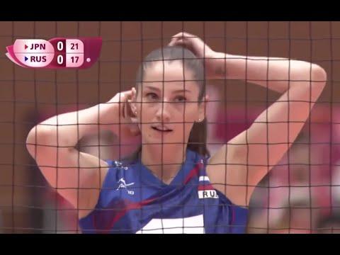 2016 FIVB Volleyball World Grand Prix JAPAN vs RUSSIA Women