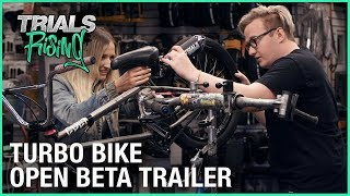 Trials Rising Open Beta Trailer | Turbo Bike IRL (In Real Life) | Ubisoft [NA]