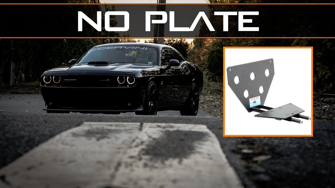 & Sto-N-Sho License Plate Holder Review - YouTube