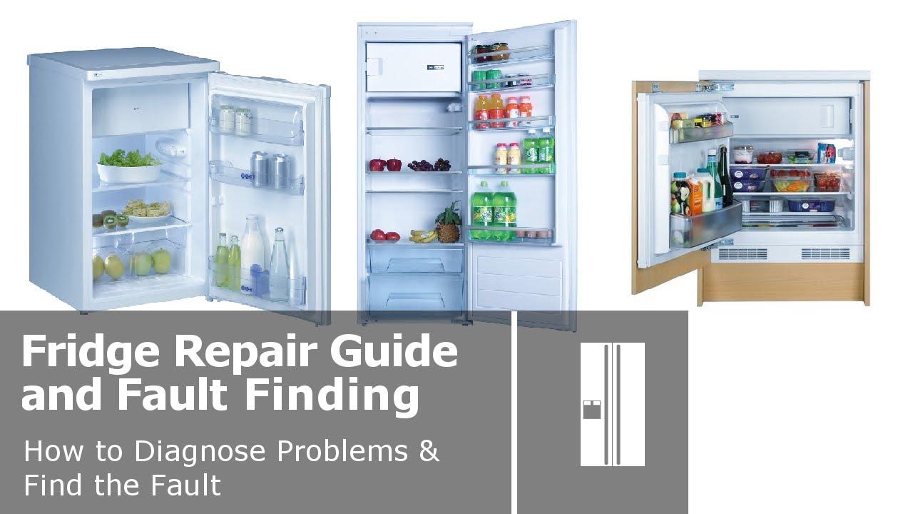 Refrigerator not cooling repair guide.