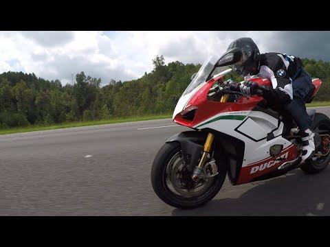Ducati V4 Speciale Vs Kawasaki ZX10R Vs Yamaha R1M Vs BMW S1000RR Vs Suzuki Hayabusa