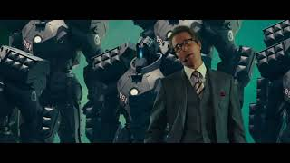 War Machine First Appearance Scene  Hammer Drones Presentation Scene  Iron Man 2 (2010) HD