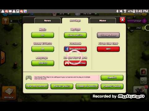 How to have multiple clash of clans accounts on android