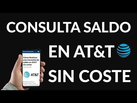 ¿Cómo Realizar una Consulta de Saldo en AT&T SIN Coste?