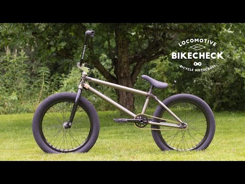BMX bike check: Mike's custom T1 Barcode
