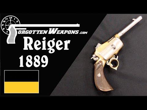 Reiger Model 1889: Quick-Change Revolver Clips!