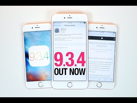 iOS 9.3.4 Released - Everything You Need To Know!