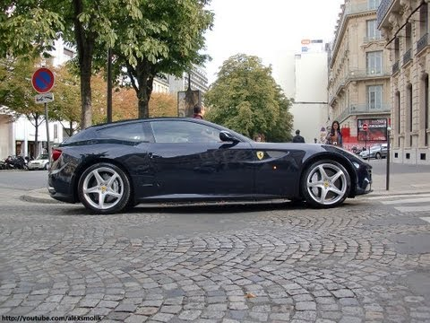 Ferrari FF in Paris