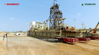 Relocating A 7,100t Mining Plant In Mozambique