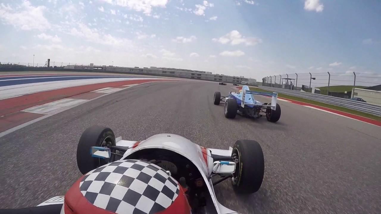 COTA SCCA Race Formula Mazda YouTube - Formula mazda