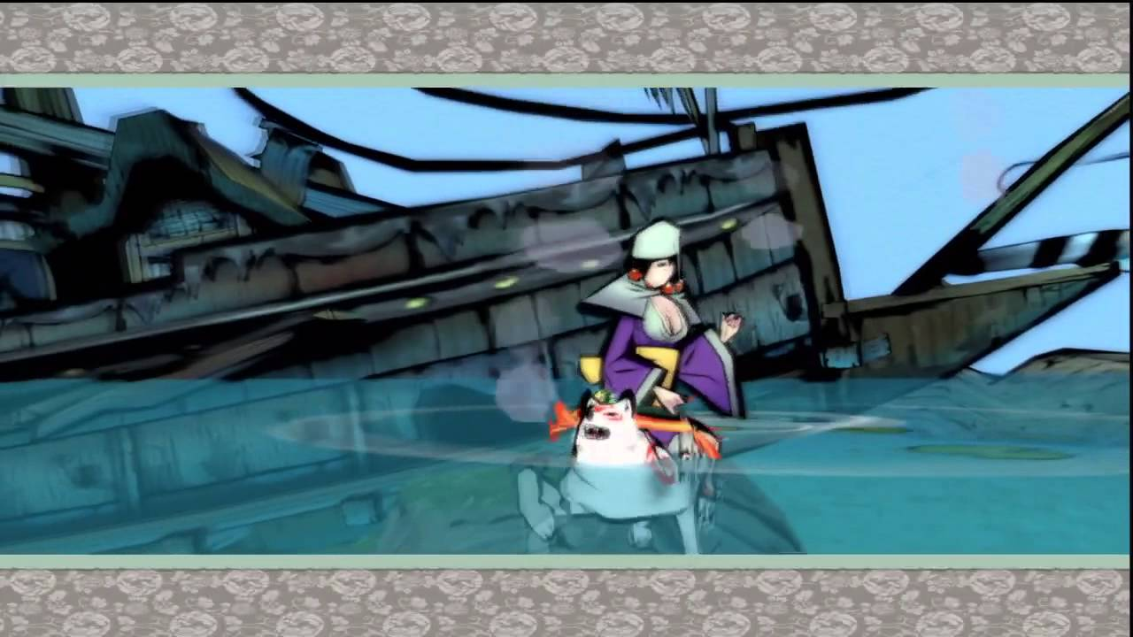 Let 39 S Play Okami Hd 60 Water Dragon Youtube