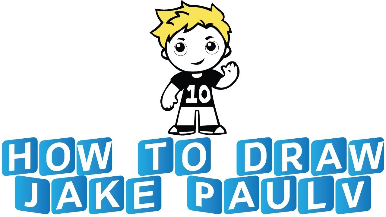 How To Draw Jake Paul For Kids Ricegum Belgian Malinois Youtube