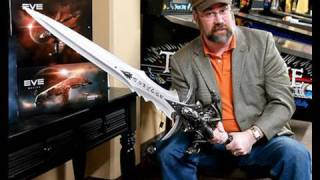 The real Frostmourne Lich King Sword - World of Warcraft Sweepstakes