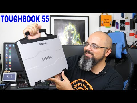 Panasonic ToughBook 55 The Modular Rugged Thought Laptop We Need