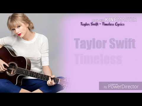 taylor swift-timeless karaoke