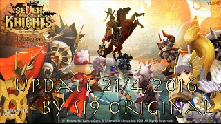 Let's play Seven Knights - Update 21/4/2016 แผนผังความสัมพันธ์และ Event