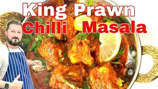 🌶**CRAZY**🌶 TASTY King Prawn Dish EVER!!   Curry From The 🌶 Gods?