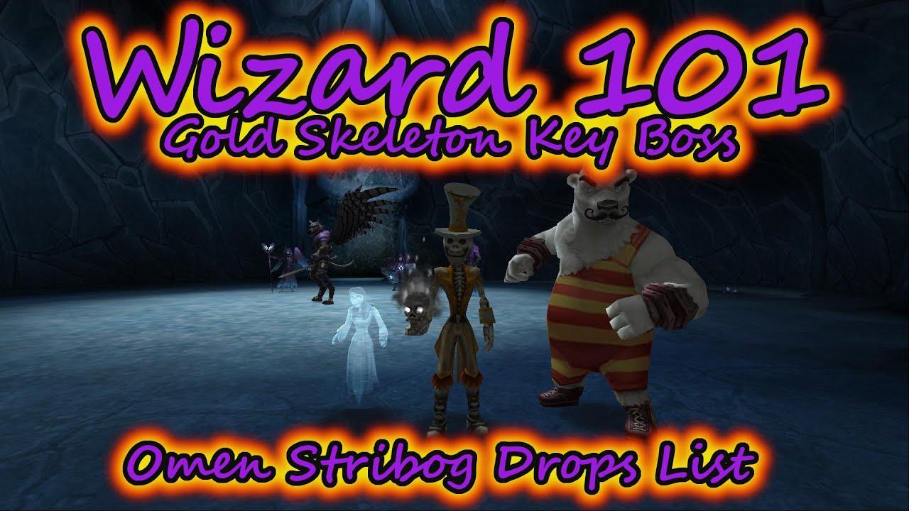 Wizard101: Omen Stribog Drops List - With Olivia Stormcloud & Mason