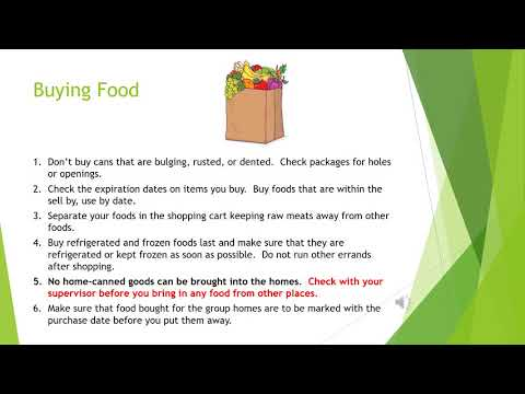 Basic Food Safety and Nutrition