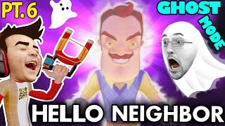 HE'S PEEING!! Nasty HELLO NEIGHBOR GHOST MODE Mod! Alpha 1 & 2 Tips & Tricks (FGTEEV Alpha 3 Next!)
