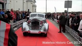 Waterloo Historic Cars 2012 - Défilé du Concours d'Élégance