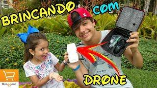 BRINCANDO COM MEU DRONE