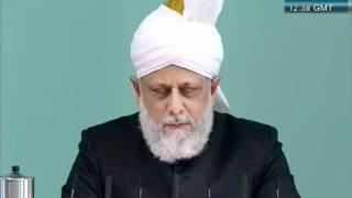 Urdu Friday Sermon 21 October 2011, Blessed and Successful European Tour_clip9.flv