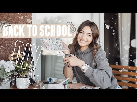 Back To School DIY School Supplies ✏️✂️ |Ema Luketin