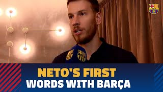 Neto: 'My personal goal is to win everything'