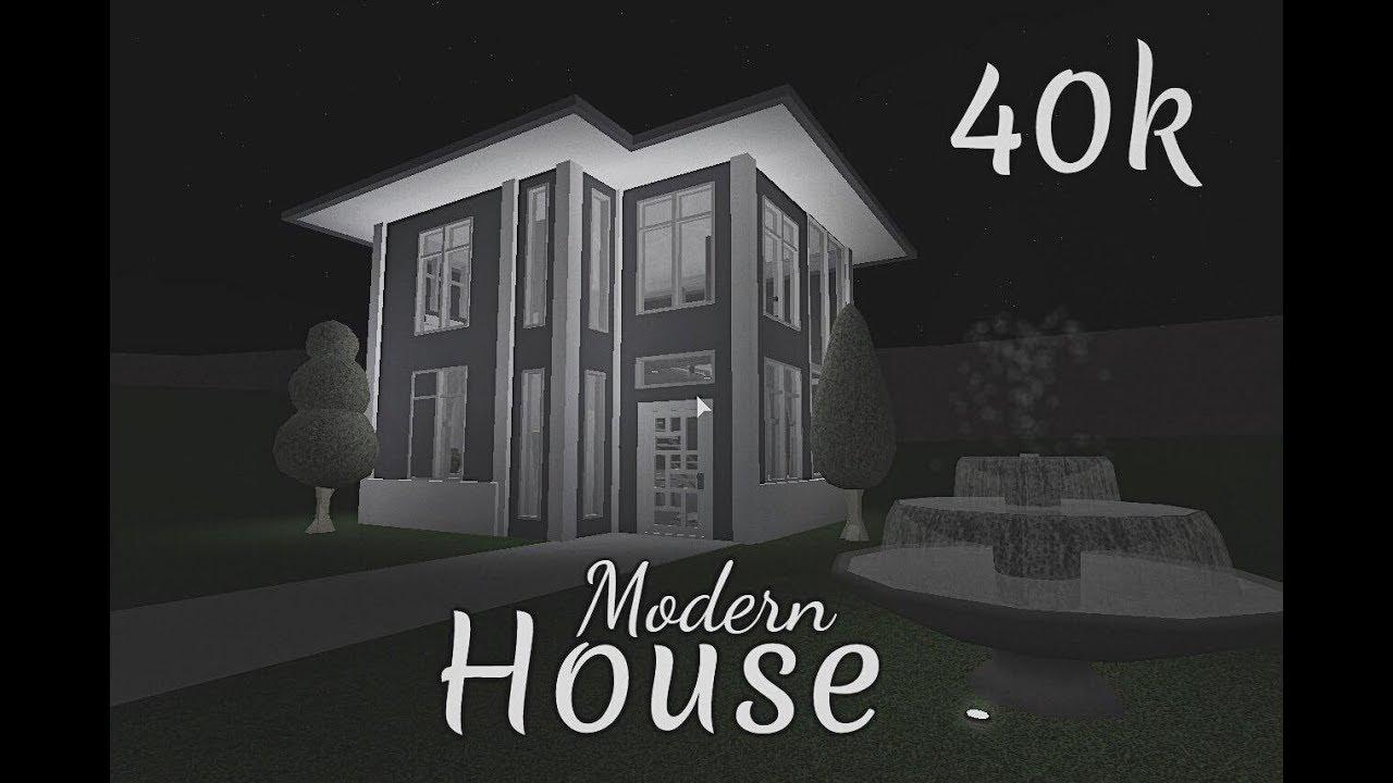 Bloxburg modern house 40k