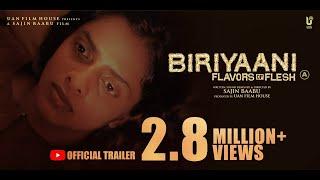 Biriyaani Malayalam Movie Official Trailer | Kani Kusruti | Sajin Baabu