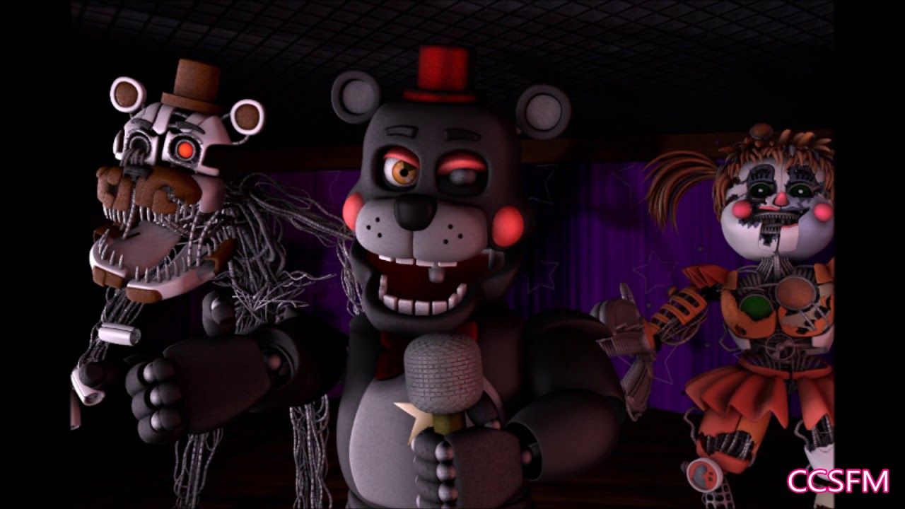 (FNaF 6 SFM) Labyrinth Short