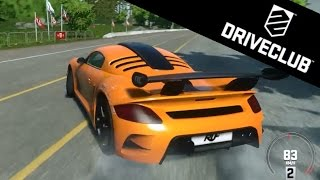DriveClub   RUF CTR3 Clubsport Gameplay (PS4) - Canada Location [HD]