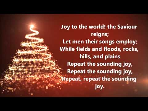 David Archuleta - Joy to the World (Lyrics)