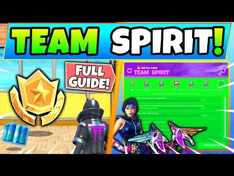 Fortnite TEAM SPIRIT CHALLENGES GUIDE! - Week 7 Star, Pets, Tips (Fortnite Missions)