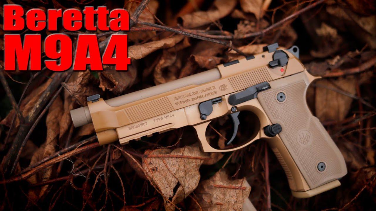 New Beretta M9A4 First Shots: The Best Beretta Yet?