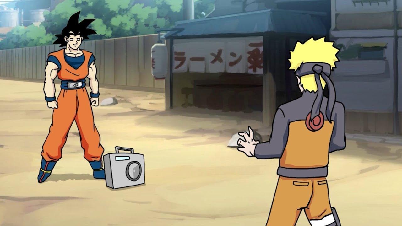 Goku vs. Naruto Rap Battle! image