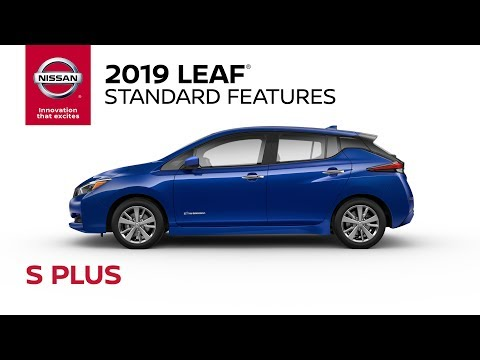 2019 Nissan LEAF S Plus Walkaround & Review