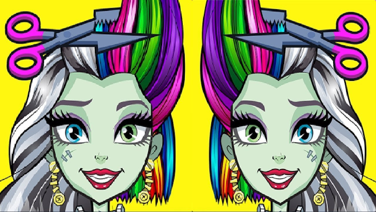 Monster High Beauty Shop Fangtastic Fashion Game Crazy Labs By Tabtale