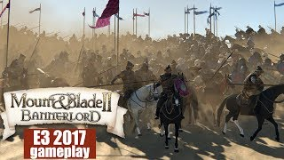 Video Mount and Blade 2: Bannerlord — E3 2017 gameplay / геймплей с Е3 (1080p 60 fps) download MP3, 3GP, MP4, WEBM, AVI, FLV Juni 2017