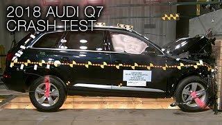 Audi Q7 (2018+) Frontal Crash Test