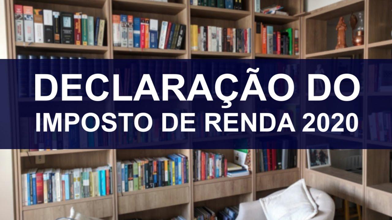 CURSO DE DECLARAÇÃO DO IMPOSTO DE RENDA 2020