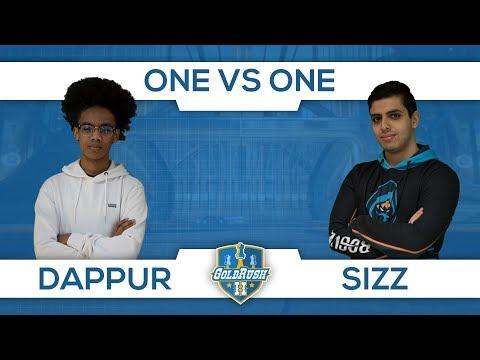 Dappur vs Sizz (1v1 Cup Swish Phase) #GoldRush2